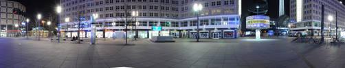 Berlin Alexanderplatz Panorama by MrGeneration