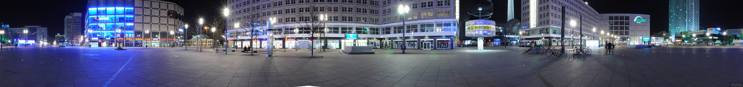 Berlin Alexanderplatz Panorama