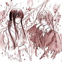 DGM: Kanda and Allen by TsubasaNoUmi