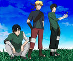 Naruto Next Generation- Sasuke's team