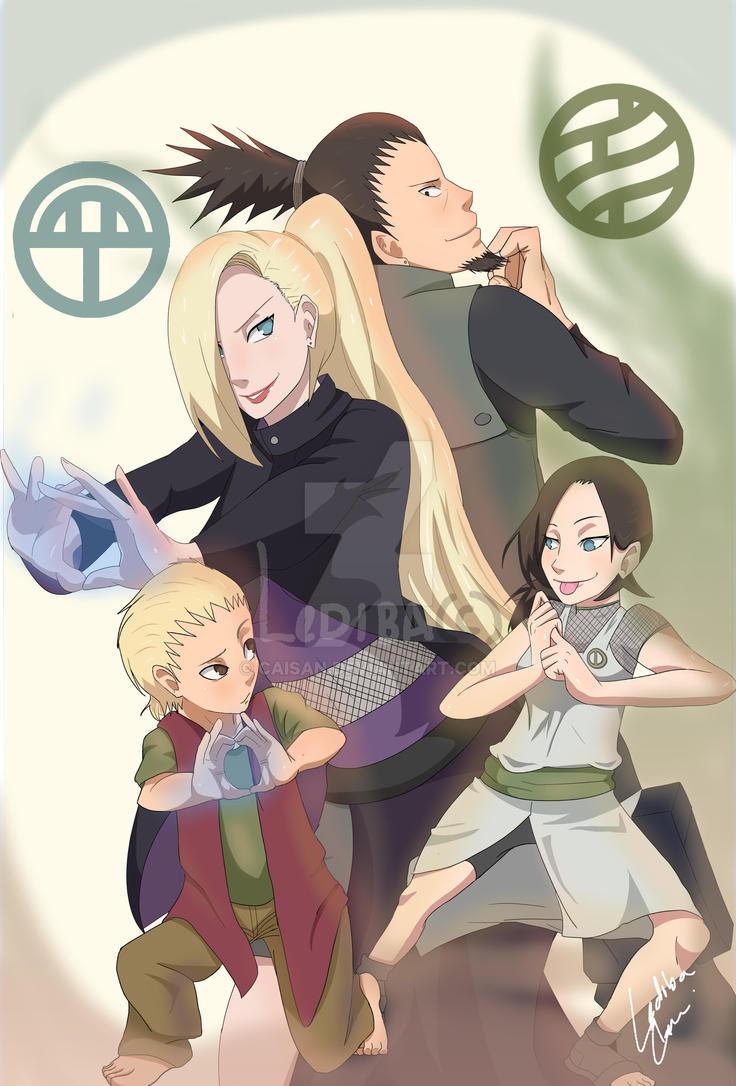 Nara-Yamanaka Clan by ...