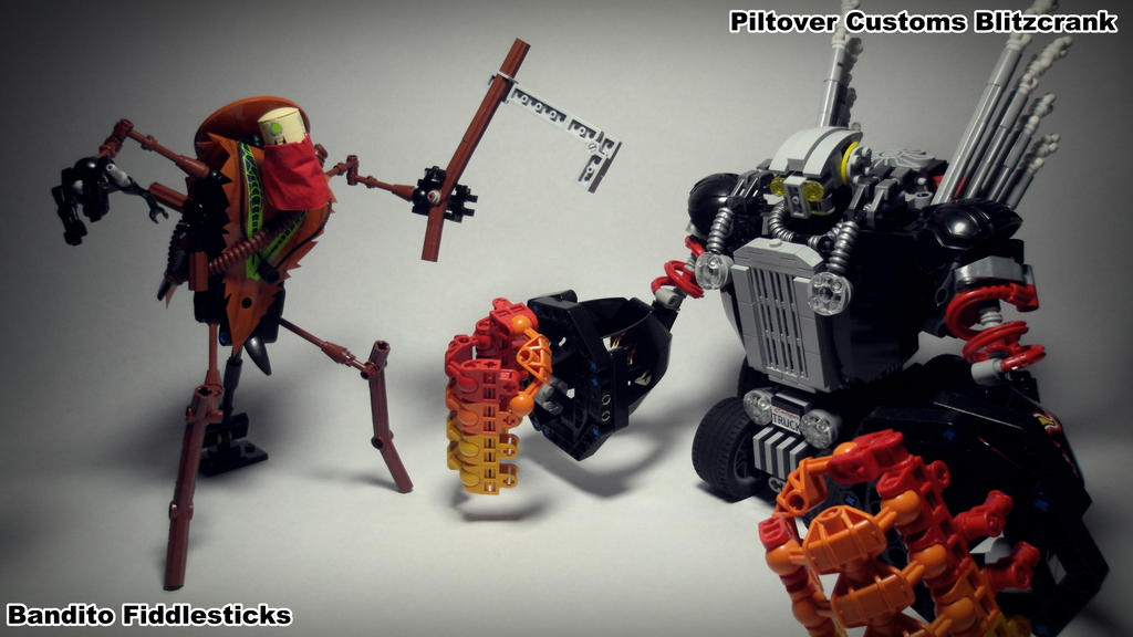 Lego - League of Legends by BuffoonH on DeviantArt