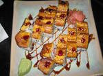 Plantain sushi