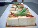Tofu appetizer  Hiyayakko