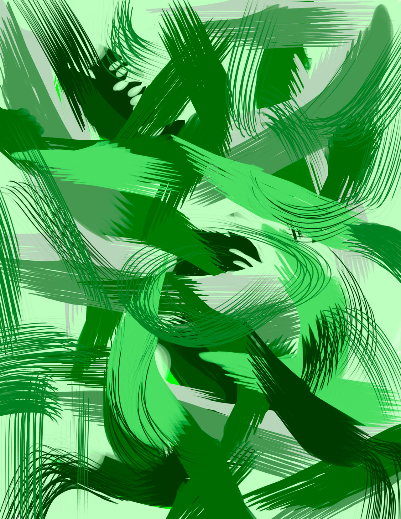Sin Titulo #5 Digital Brush 2020 series
