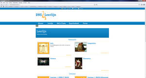 DNS Leergemeenschap by chalkwebdesign