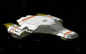 FTL: Kestrel Cruiser by Tink29