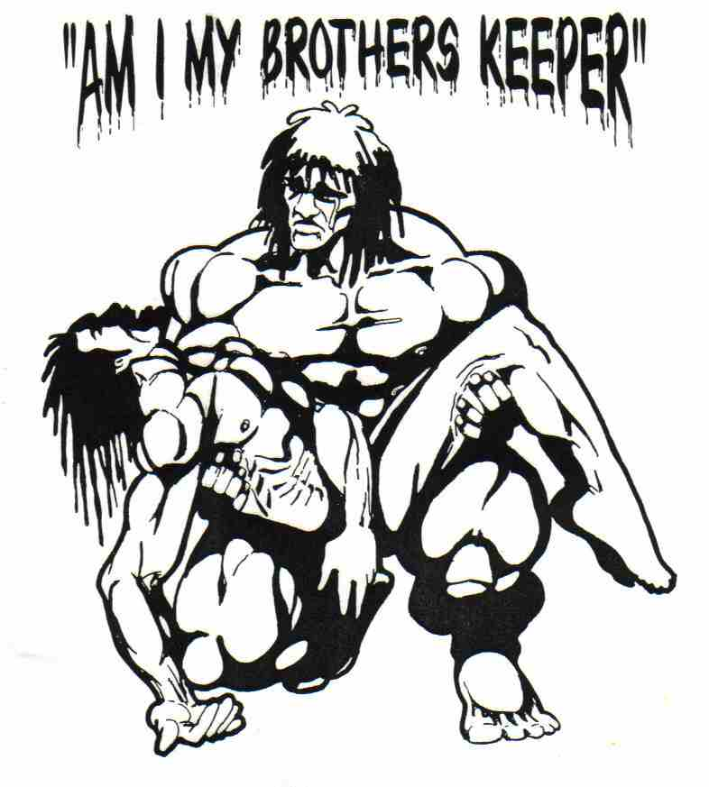 am i my brothers keeper essay This essay sibling rivalry and other 63,000+ term papers and kept asking his parents am i my brother's keeper the story of these two brothers has a tragic.