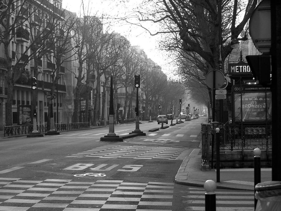 image Exihb dans paris rue parc magazin