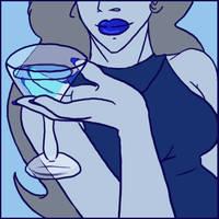 Blue Martini by drazzi