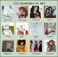 2010 Art Summary by drazzi