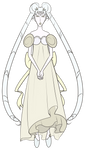 FA:: Sailor Gems - Princess White Diamond Serenity
