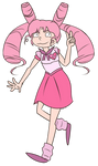 FA:: Sailor Gems - Sailor Chibi Rose Quartz