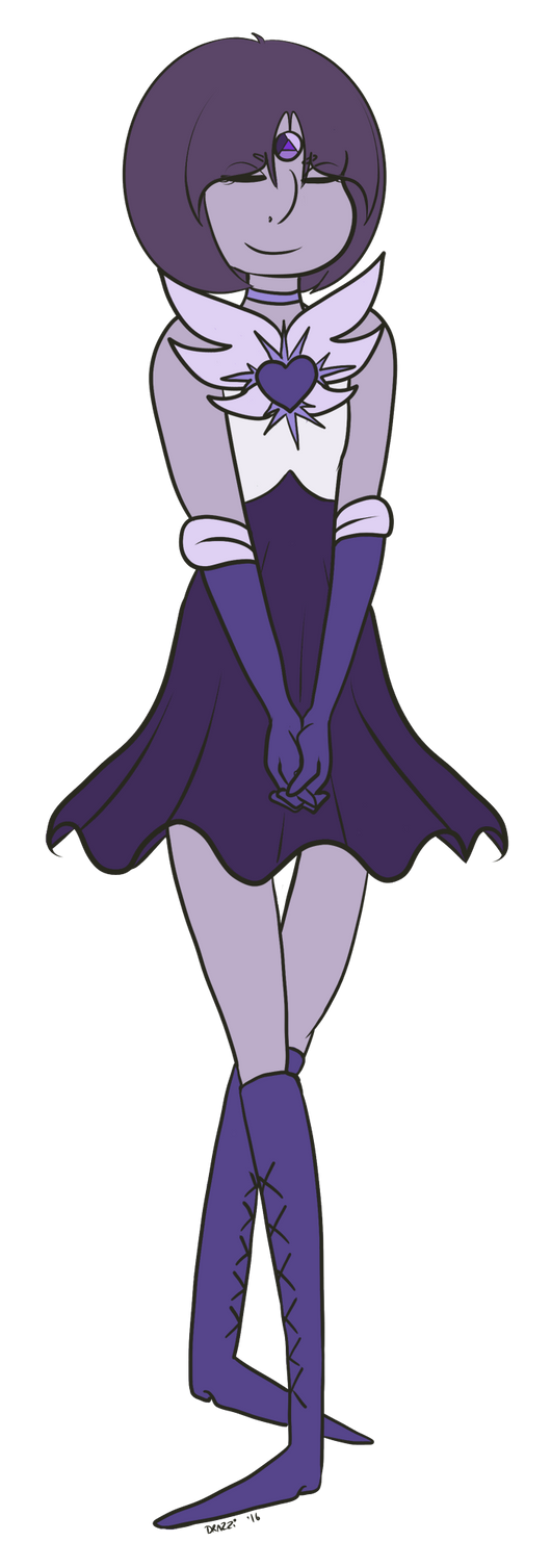 FA:: Sailor Gems - Sailor Iolite by drazzi
