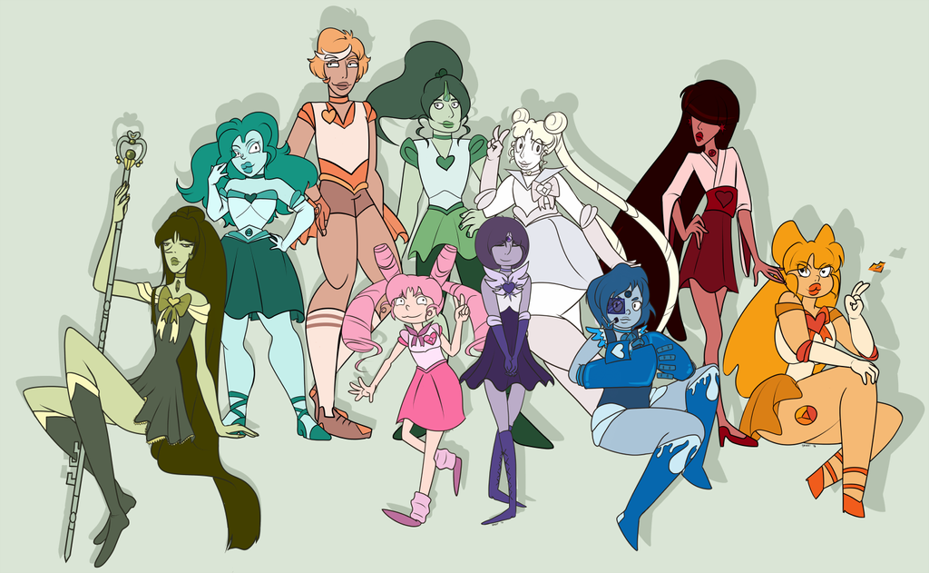 FA:: Sailor Gems by drazzi