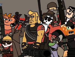 Cartoon Fortress 2 by TheTitan99