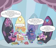 Equestria Royal Games by TheTitan99