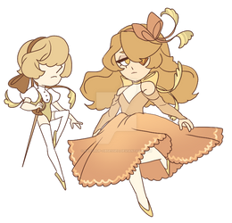 Collab Chibi Diamond and Pearl Auction [CLOSED]