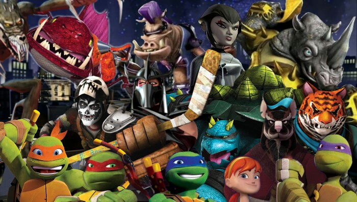 TMNT 2012 Wallpaper By Coolkat122