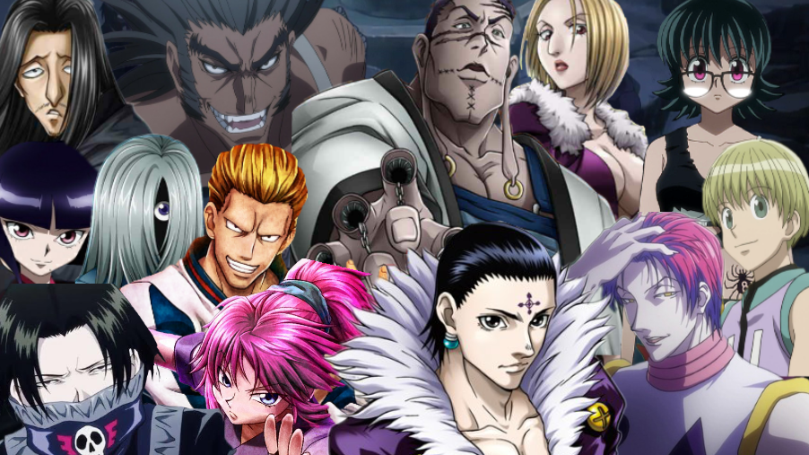 Phantom Troupe Wallpaper By Coolkat122