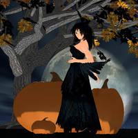 Silent Shadow Halloween Tribute (from 2008) by ArdathkSheyna