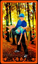 Silent Shadow Tarot The Lovers by ArdathkSheyna