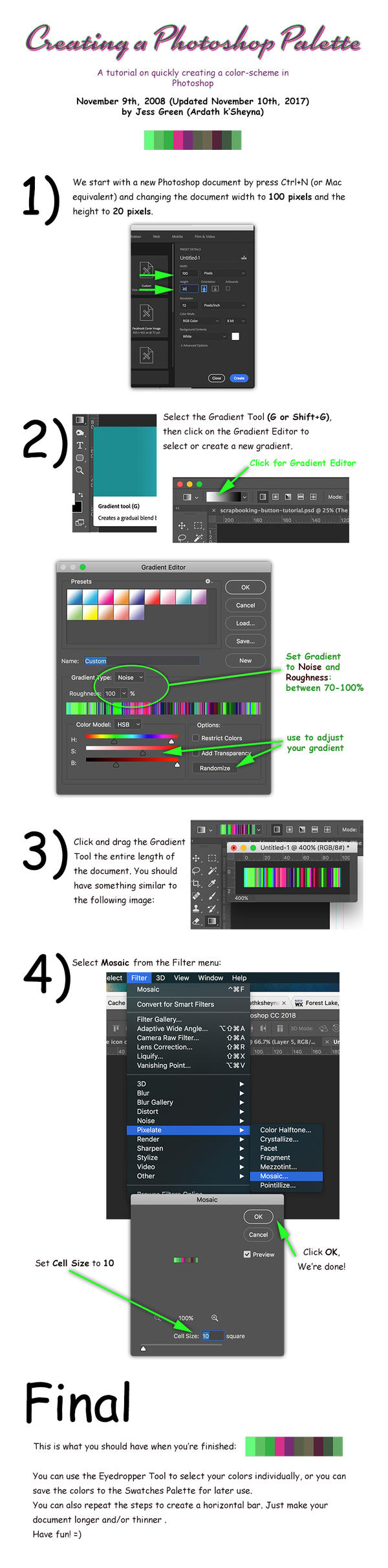 Color Palette Tutorial by ArdathkSheyna