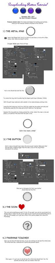Scrapbooking Button Tutorial