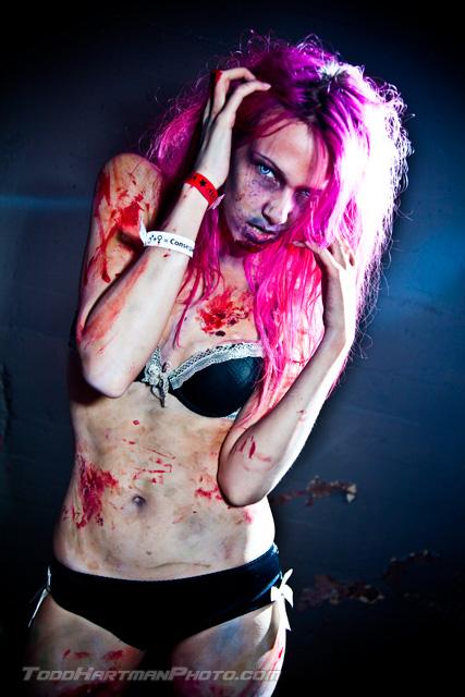 Exotic Erotic: Zombie Stripper by RavenLeFaye