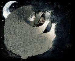 The Bear Spirit's love. by SkyWheel