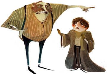 Character Design Dump 1 by SkyWheel
