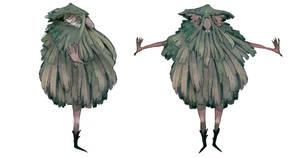 Naked seaweed