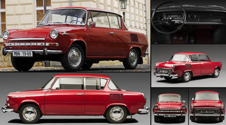 1966 Skoda 1000 MBX Coupe by Racer5678