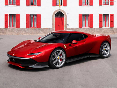 2018 Ferrari SP38 Coupe