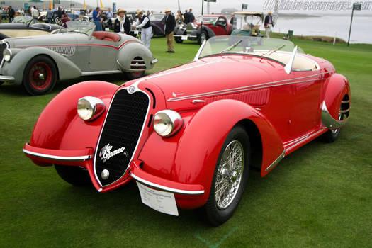 1938 Alfa Romeo 8C 2900B Lungo Touring Spider