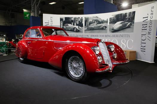 1939 Alfa Romeo 8C 2900B Lungo Touring Berlinetta