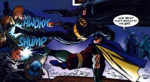 Batman and Robin Kick