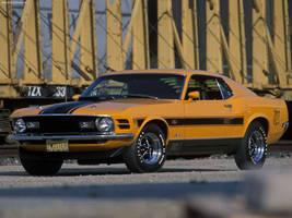 1970 Ford Mustang Mach 1 Coupe