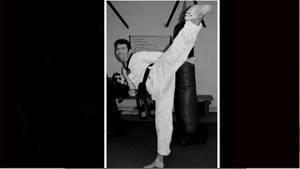 Karate kick 196