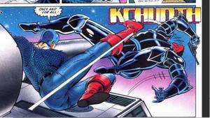 Captain America Kick