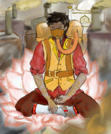 Steampunk Ganesh by BlameMyMuses