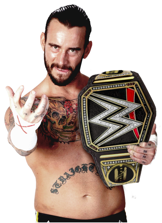 CM Punk WWE World Heavyweight Champion by Nibble-T on ...
