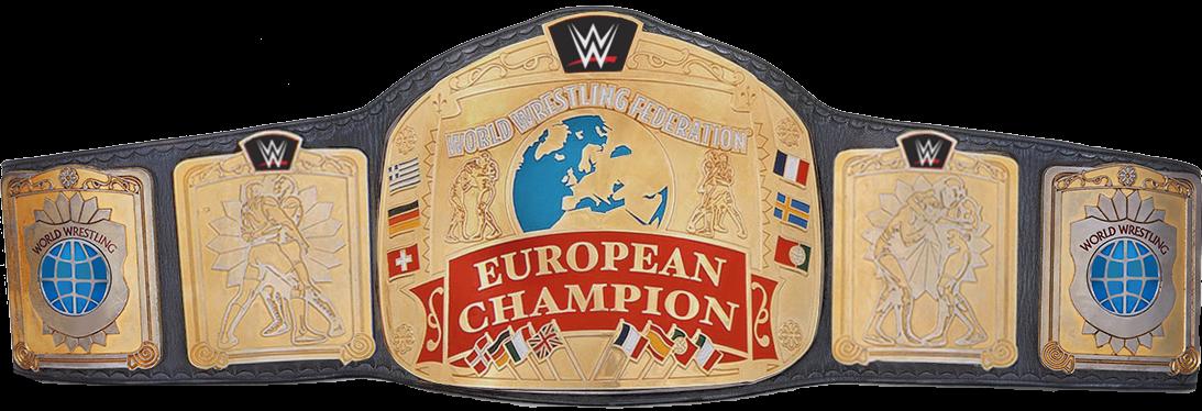 European Championship WWE European Title - W...
