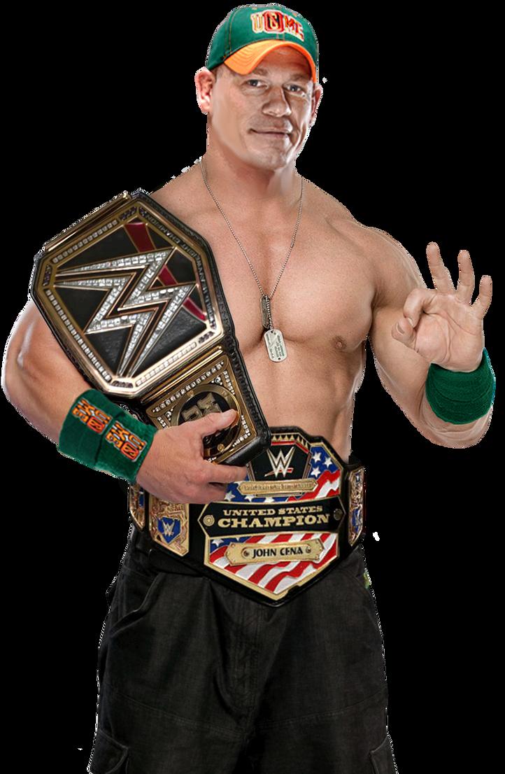 John cena - John Cena Wwe And Us Champion By Nibble T