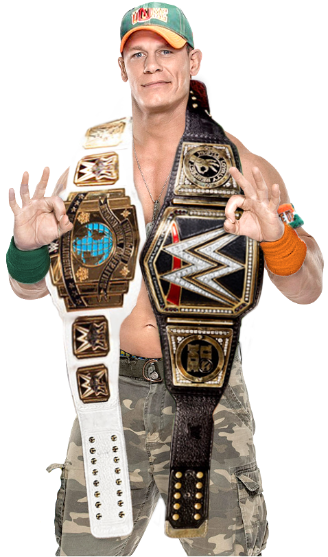 John Cena Intercontinental And WWE Champion By Nibble T