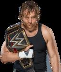 Dean Ambrose WWE World Heavyweight Champion BIG