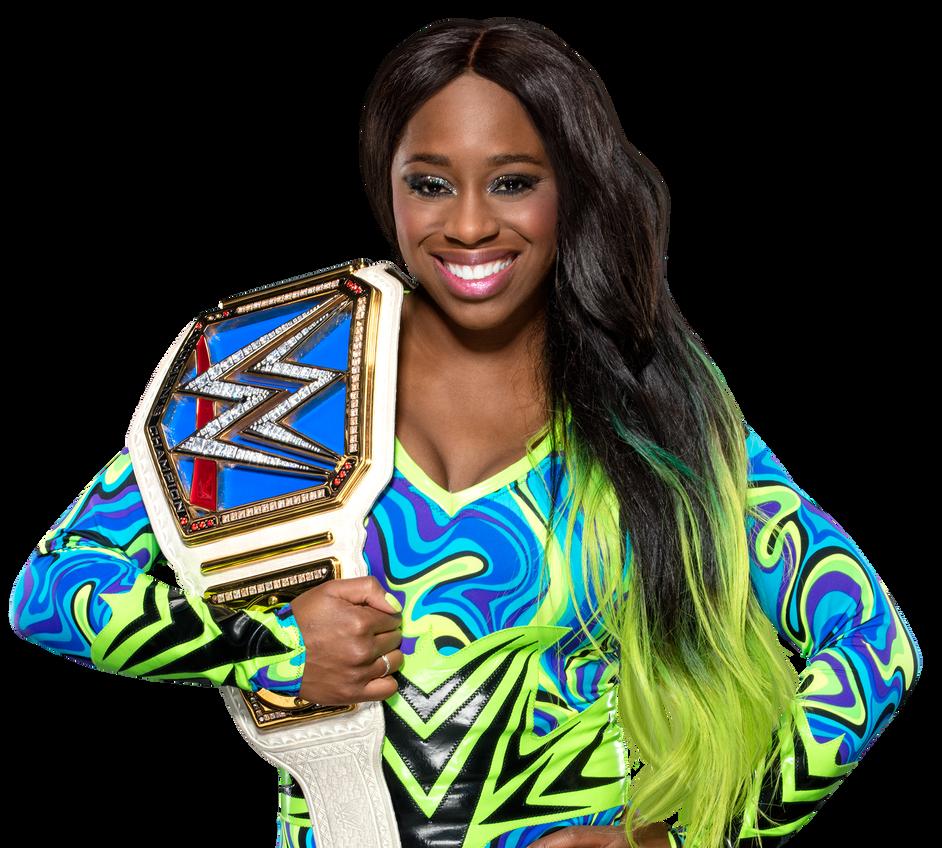 Naomi Smackdown Women's Champion By Nibble-T On DeviantArt