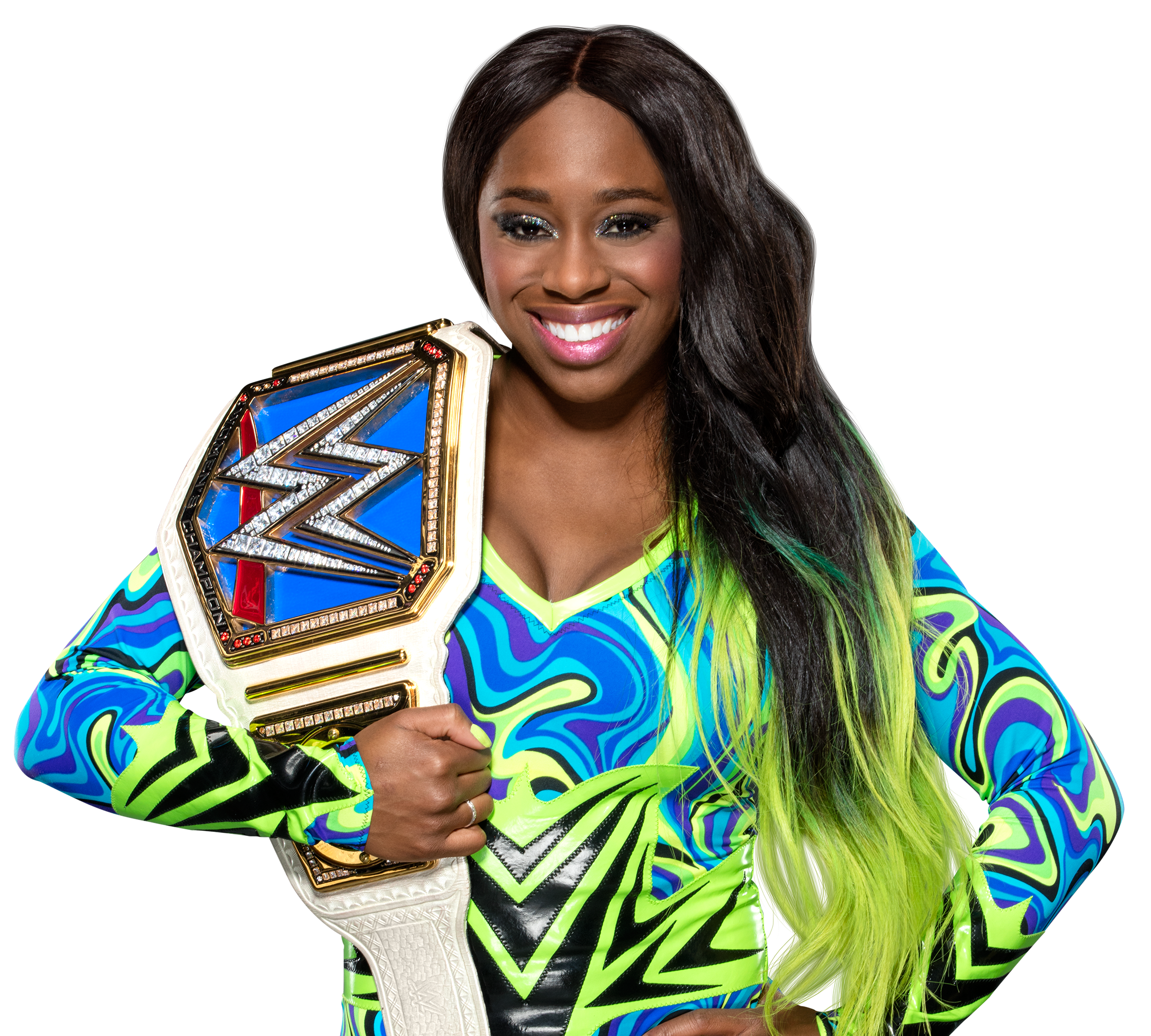 Naomi Kvetinas: Naomi Smackdown Women's Champion By Nibble-T On DeviantArt