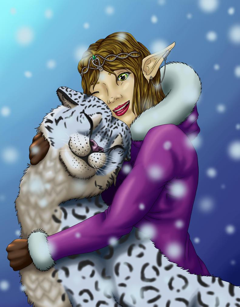 Darlene the Elf by lianaillo