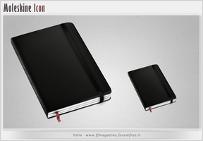 Moleskine Icon by KeyMoon